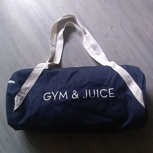 {Private Party} Gym & Juice Denim Duffle B…